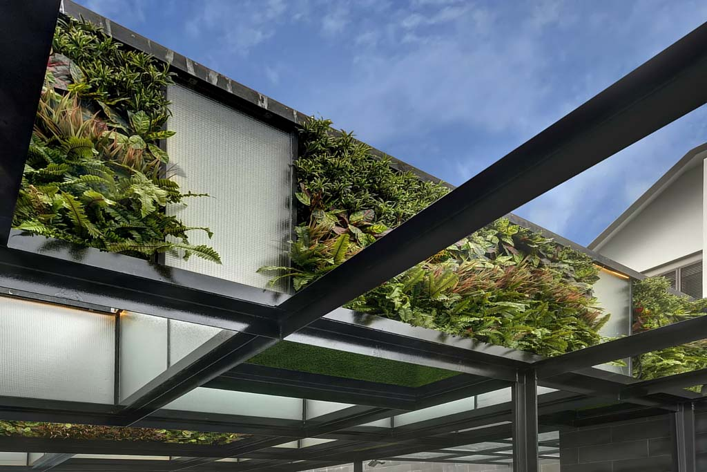 Artificial Vertical Gardens Cladding Greenturf Asia
