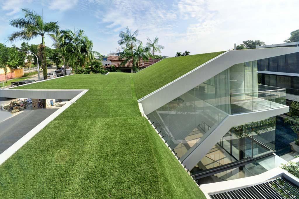 Roof Covering Greenturf Asia