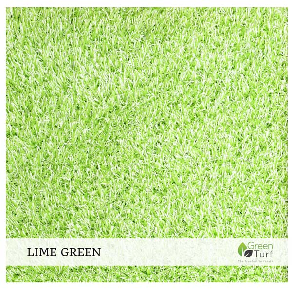Lime Green Home Furnishing Turf