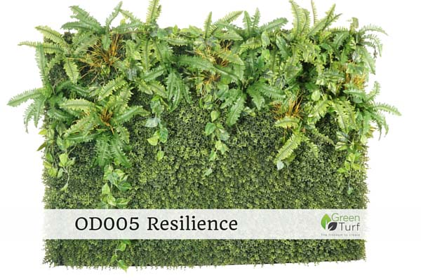 OD005 Outdoor Artificial Green Wall Resilience