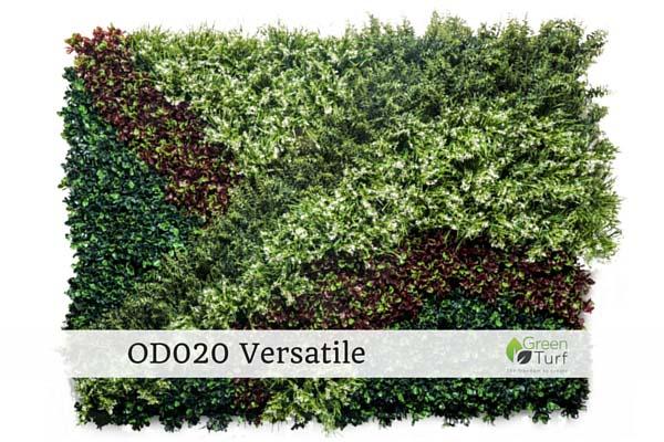 OD020 Outdoor Artificial Vertical Garden Versatile
