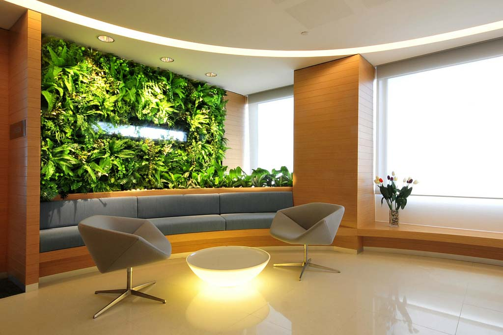 Feature wall greenturf asia for Feature wall interior design