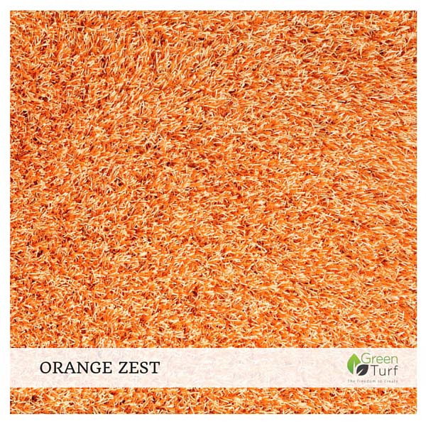 Orange Zest Home Furnishing Turf