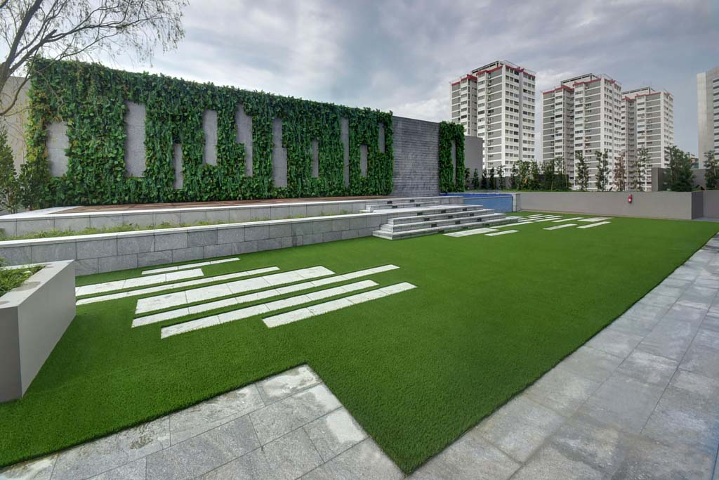 Home greenturf asia for Vertical green wall