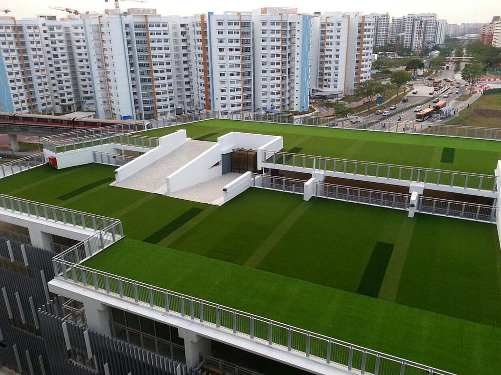Heat Insulation Greenturf Asia