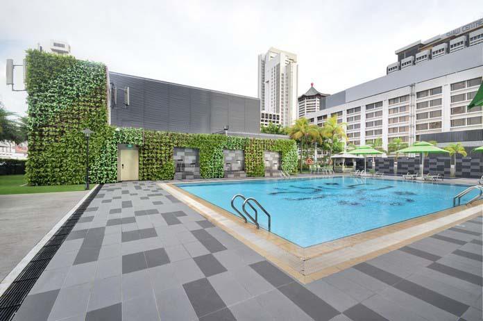 Artificial Vertical Garden Greenturf Asia