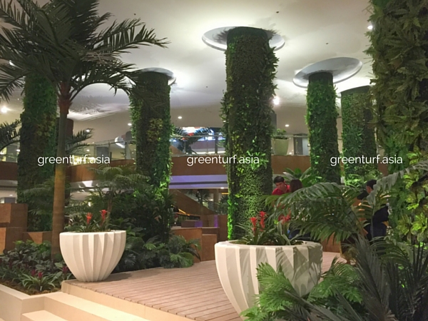 Indoor Lush Artificial Vertical Gardens in Philippines