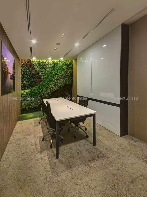 Vertical Garden Facade Greenturf Asia