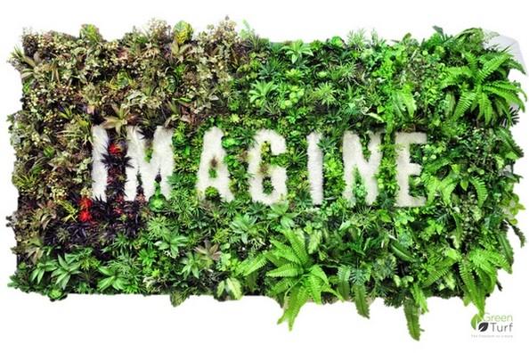 IMAGINE Green wall by GreenTurf
