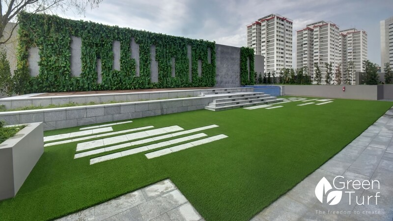 Modern Outdoor Wall Covering Greenturf Asia