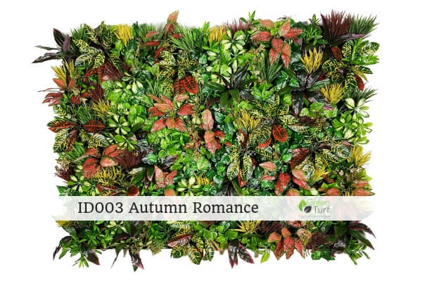 ID003 Autumn Romance Indoor Artificial Vertical Garden
