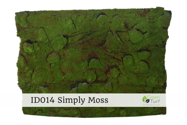 ID014 Indoor Artificial Green Wall Simply Moss