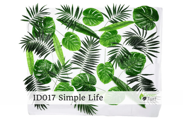 ID017 Indoor Artificial Green Wall Simply Life
