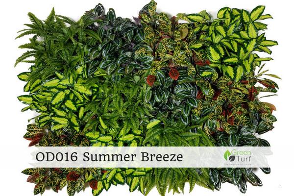 OD016 Outdoor Artificial Vertical Garden Summer Breeze