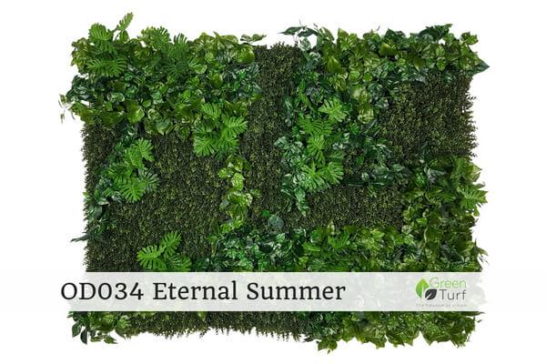 OD034 Outdoor Artificial Green Wall Eternal Summer