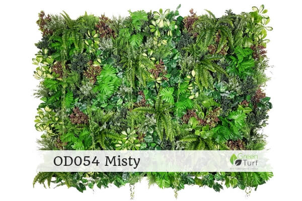 OD054 Outdoor Artificial Green Wall Misty