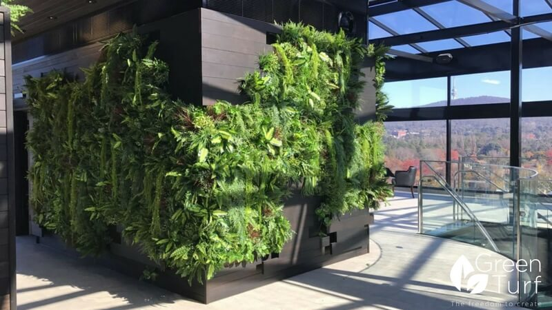 GreenTurf Artificial Vertical Garden and Wood Panels