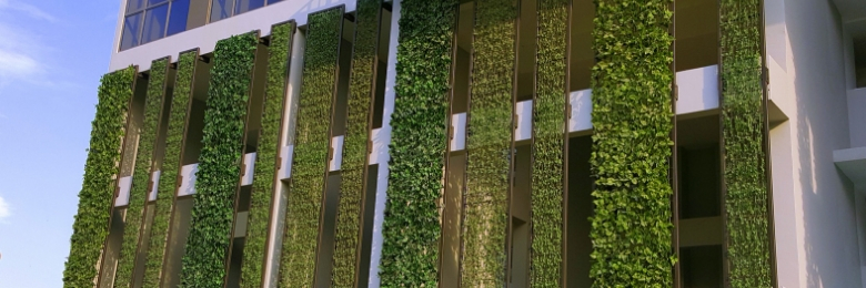 Condominiums Choose GreenTurf Artificial Vertical Gardens