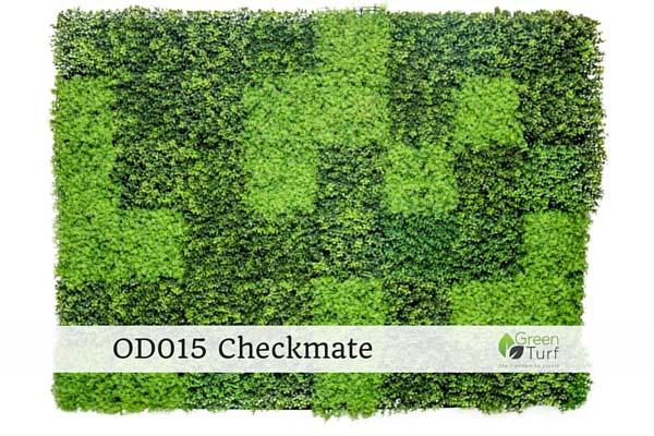 OD015 Outdoor Artificial Vertical Garden Checkmate