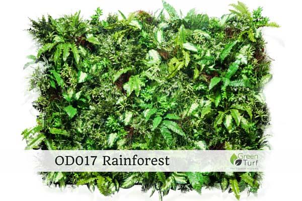 OD017 Outdoor Artificial Vertical Garden Rainforest