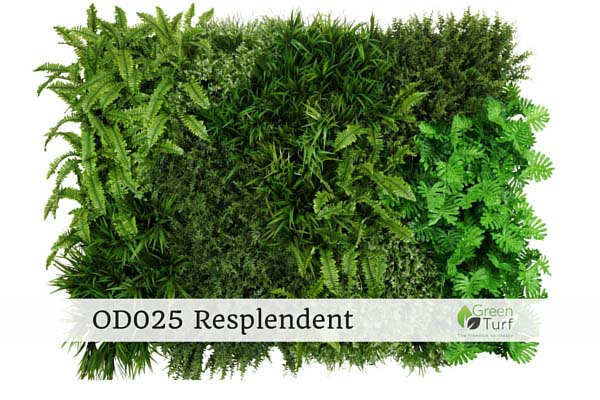 OD025 Outdoor Artificial Vertical Garden Resplendent