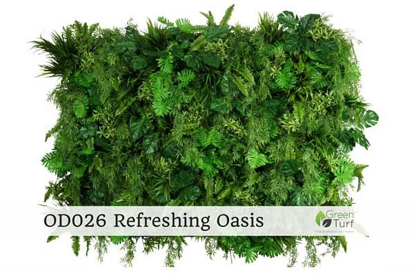 OD026 Outdoor Artificial Vertical Garden Refreshing Oasis