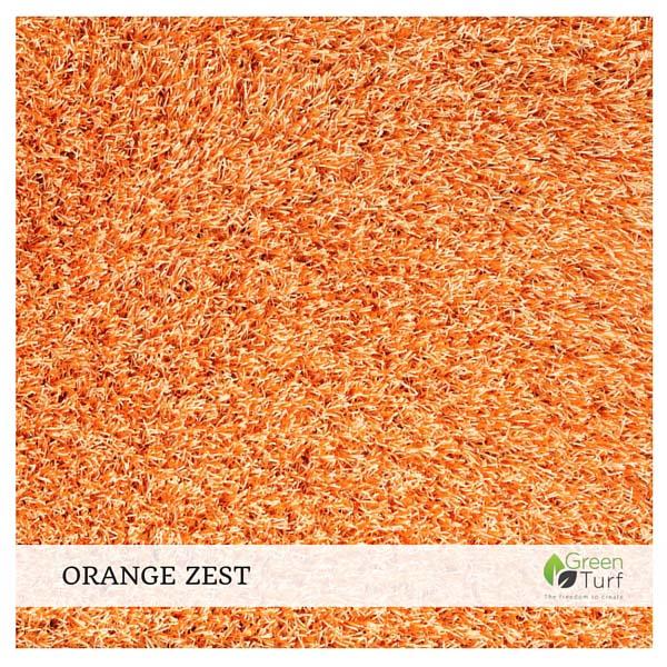 Orange Zest Home Furnishing Turf