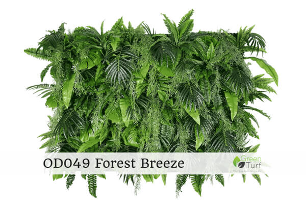 OD038 Outdoor Artificial Green Wall Forest Breeze