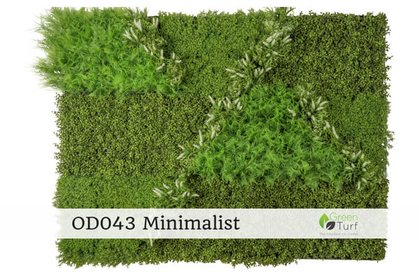 OD043 Outdoor Artificial Green Wall Minimalist