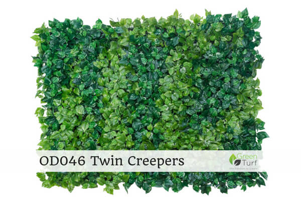 OD046 Outdoor Artificial Green Wall Twin Creepers