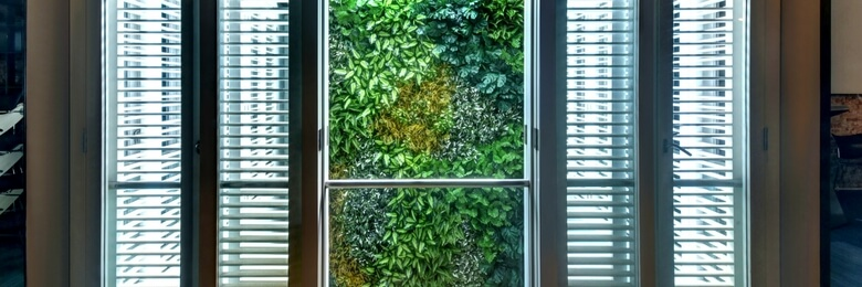 Artificial Green Wall at Singapore Institute of Architects (SIA)